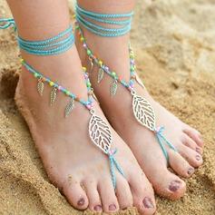 Chinlon Foot Jewellery (Set of 2) (107156788)
