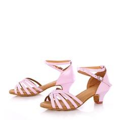 Детская обувь кожа На каблуках Сандалии Латино Обувь для танцев (053121193)