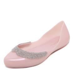 Kvinner PVC Flate sko Lukket Tå sko (086165239)