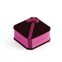 Bonito Veludo Senhoras' Caixa de Jóias (050041322)