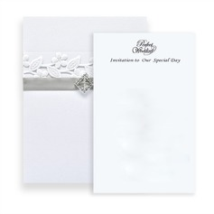 Stile classico Wrap & Pocket Invitation Cards (Set di 10) (118040279)