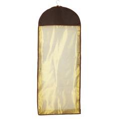 Vintage/Respirável Comprimento do vestido Saco de Roupa (035038444)