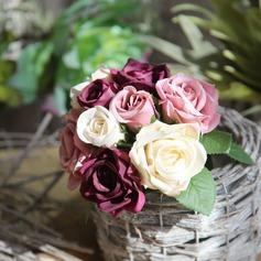 элегантные шелковые цветы Домашнего декора (203169264)