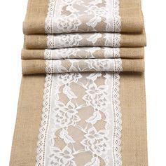 Tafelkleed Linnen (Verkocht in één stuk) Eenvoudig Tafel Middenstuk (128152269)