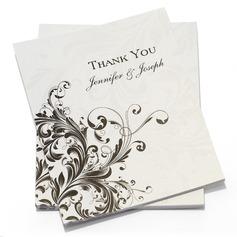Персонализированные цветочный Стиль Спасибо карты (набор из 50) (114054973)