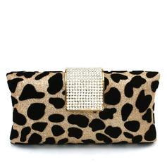 Den Fashional Sammet med Strass Grepp (012016235)