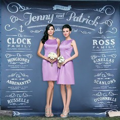 Personalized Print Cloth Photobooth Backdrop (118067473)