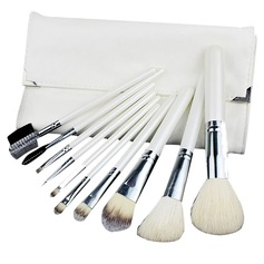 1 Zuivere 10Pcs Wit Buidel Make-up Voorraad (046049512)
