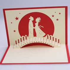 Three-dimensional Happy Lover Greeting Cards (114059157)
