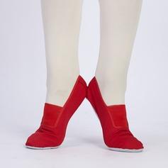 Vrouwen Zeildoek Ballet Dansschoenen (053123262)