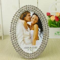 Sposa e Sposo In lega di zinco Photo Frames con Strass (051031708)