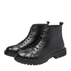 Мужская натуральня кожа Chukka вскользь Men's Boots (261172207)