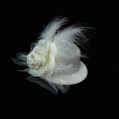 Gorgeous Artificial Silk/Feather Flowers & Feathers (042038363)
