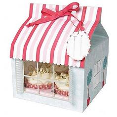 Patissiere Cupcake Dozen met Linten (Set van 12) (050024717)