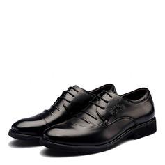 Hommes Similicuir Dentelle Chaussures habillées Travail Chaussures Oxford pour hommes (259172254)