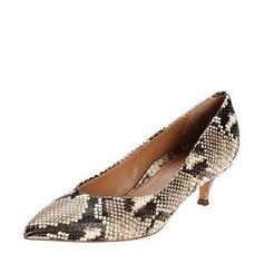 Women's PU Stiletto Heel Pumps Closed Toe With Others shoes (085142846)