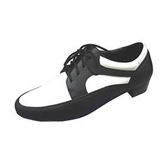 De los hombres Piel Tacones Danza latina Sala de Baile Entrenamiento zapatos de personaje Zapatos de danza (053013194)