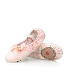Детская обувь Холст Кружева На плокой подошве Балет с бантом Обувь для танцев (053121960)