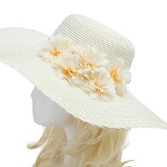 Необычные Искусственного шелка/Импортные бумаги Цветы и перья (042052518)