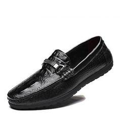 Мужская натуральня кожа Лошадь Мокасины вскользь Men's Loafers (260173971)
