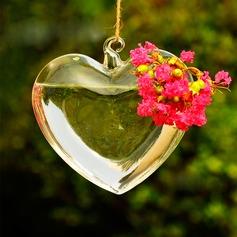 Привлекательный Сердце дизайн стекло ваза (128061389)
