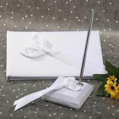 Calla Lily Ribbons Guestbook/Pen Set (101036830)