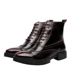 Мужская натуральня кожа Chukka вскользь Men's Boots (261172203)