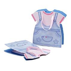 Baby kleding ontwerp Bedank Tassen met Linten (050052047)