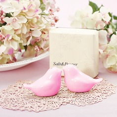 Pink Love Birds Salt and Pepper Shakers (Set of 2) (051146449)