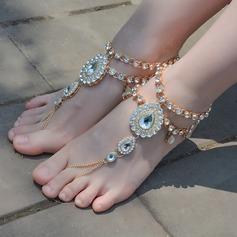 Rhinestone Alloy Foot Smykker (Selges i ett stykke) (107130776)