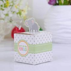 Adorável Elefante Cubi Caixas do Favor (conjunto de 12) (050024305)
