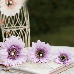 Красивая искусственный жемчуг/Искусственного шелка заколки/Цветы и перья (042068643)