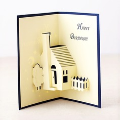 Three-dimensional Country Living Greeting Cards (114042513)