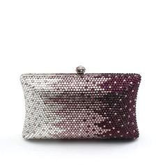 Elegante Cristal / Strass Embreagens/Embreagens de Luxo (012063222)