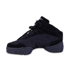 Женщины Мужская Холст Танцевальные кроссовки Танцевальные кроссовки с Шнуровка Обувь для танцев (053056412)