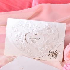 Estilo Coração Tri-Fold Invitation Cards (Conjunto de 50) (114033288)
