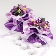 Mooie Bloemen Thema Bedank Tassen met Bloemen/Linten (Set van 12) (050046715)