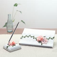 Flores projeto Conjunto de coleta com fecho de correr (100119292)