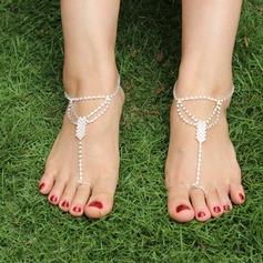 Rhinestone Alloy Foot Smykker (Selges i ett stykke) (107122428)