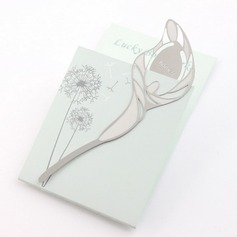 Lovely Lily Design Zinc Alloy Bookmarks (051032587)