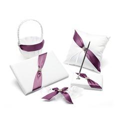Maravilloso Set de colección en Satén con Diamantes de imitación/Fajas (100047567)