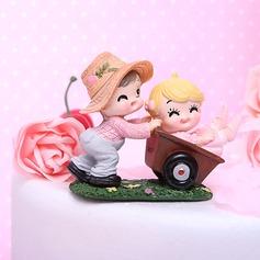 Сад веселье смола День рождения Фигурки для торта (119031529)