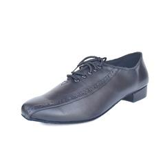 Мужская Натуральня кожа На каблуках На каблуках Латино Бальные танцы Практика Обувь для Персонала Обувь для танцев (053077307)
