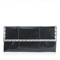 Prachtige Patent Leather met Strass Koppelingen (012047950)