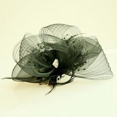 Senhoras Bonito Fio rede A testa de jóias/Chapéu (042143664)