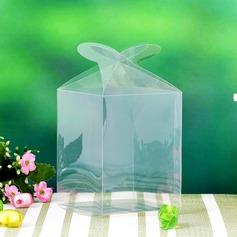 Полупрозрачные Кубовидной пластиковые Фавор коробки и контейнеры/пирожня Коробки (набор из 12) (050032988)