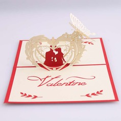 Three-dimensional Happy Lover Greeting Cards (114059159)