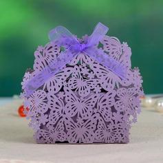 бабочки темы бумага перлы Коробочки с Ленты (набор из 12) (050046727)