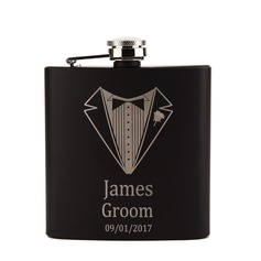 Personalized Delicate Stainless Steel Flask (118096113)
