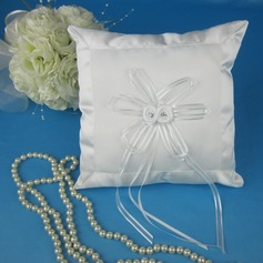 Simple Ring Pillow With Ribbons/Bow (103039979)